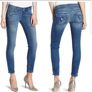 Hudson Collin Flap Skinny Jeans. Size 27